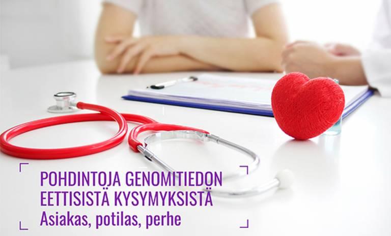 Profitun blogissa pohditaan genomitiedon eettisiä kysymyksiä asiakkaan, potilaan ja perheen näkökulmasta.