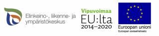 Rahoittajien logot: Ely-keskus, Vipuvoimaa EU:ta 2014-2020 ja Euroopan unioni.