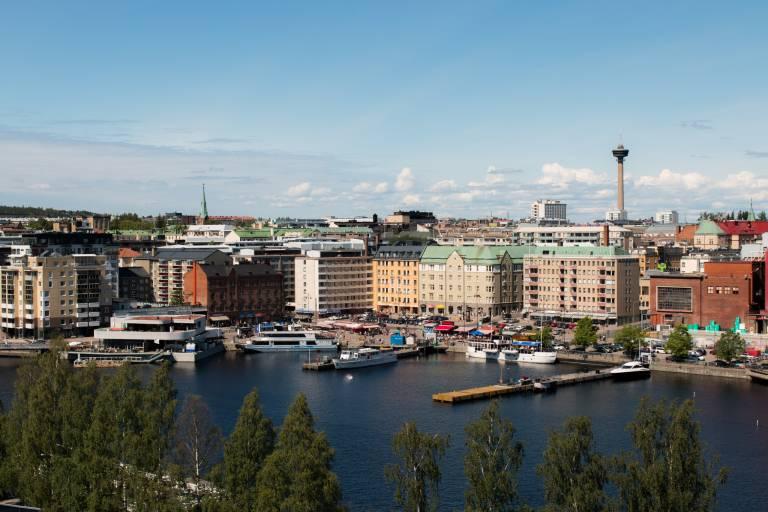 Kuva Tampereen keskustasta