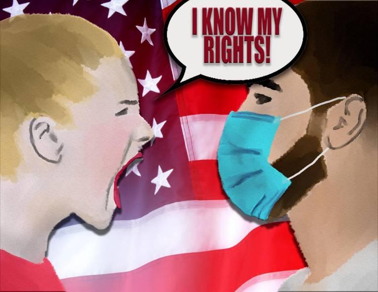 Maskien ei pitänyt olla politiikkaa (Eriana Ruiz)