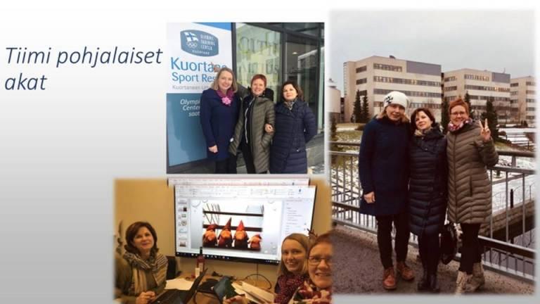 Opo-opiskelijoiden tiimi: pohjalaiset akat.