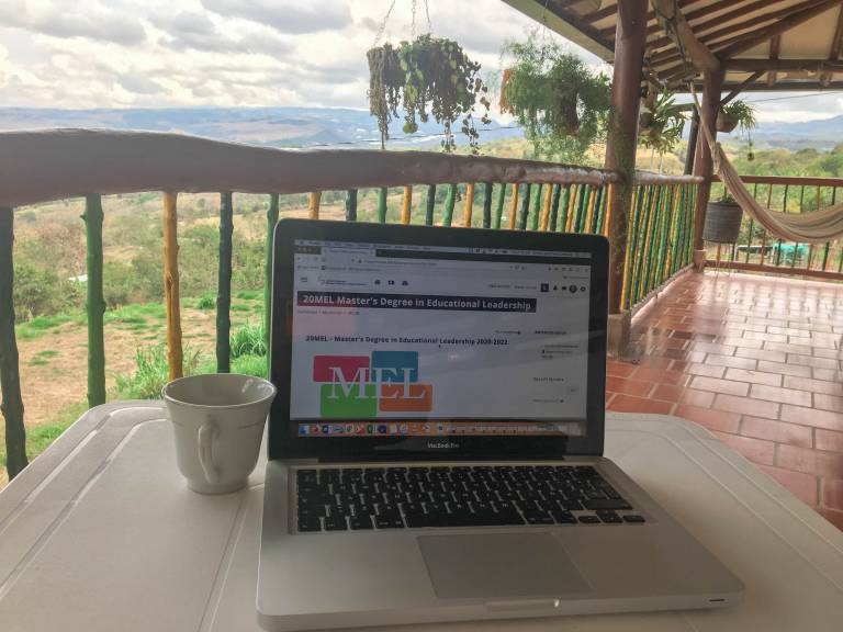 MEL student in Colombia