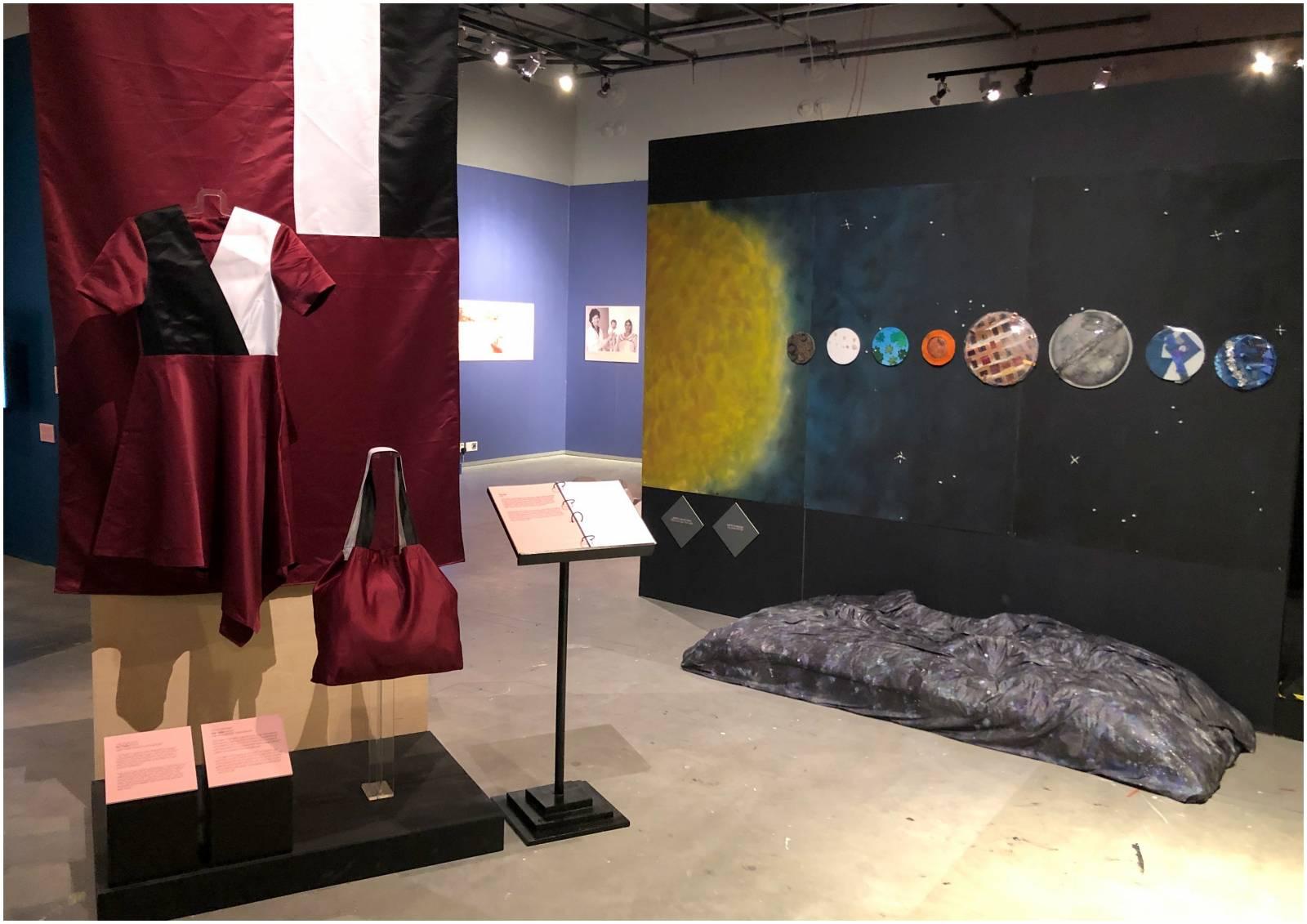 Exhibition artefacts.